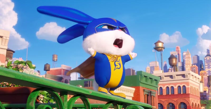 See super Snowball in The Secret Life of Pets 2