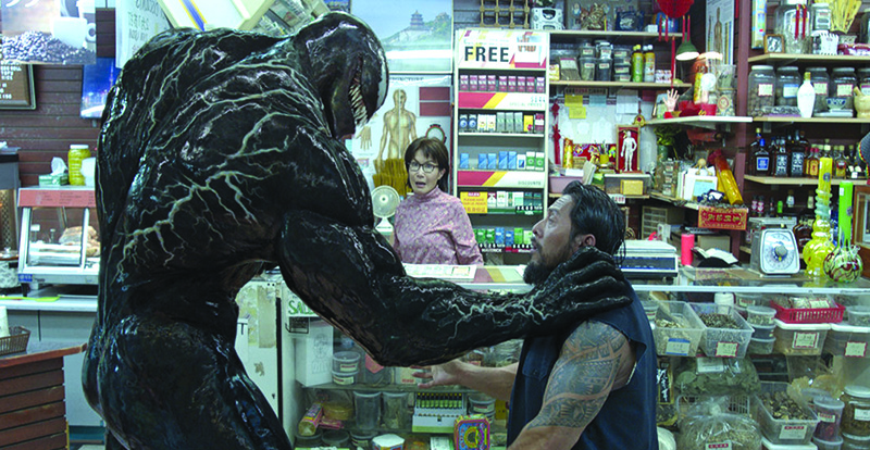 Venom on DVD, Blu-ray & 4K January 16