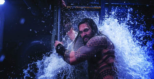 Interview with Jason Momoa and Amber Heard – Aquaman