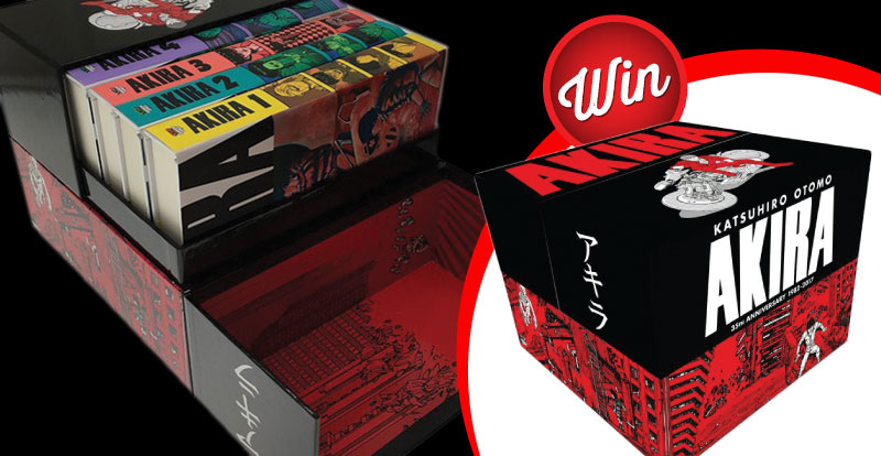Win an Akira hardcover manga box set