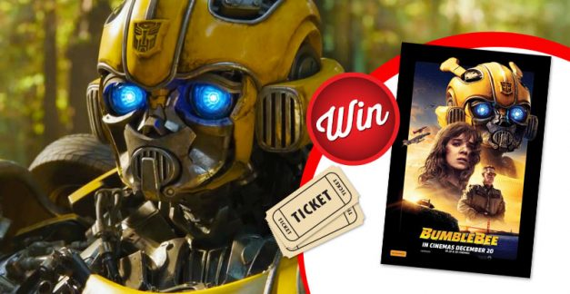 Win one of 20 movie tickets to see Bumblebee