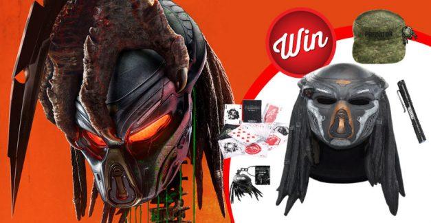Win one of three epic Predator prize packs