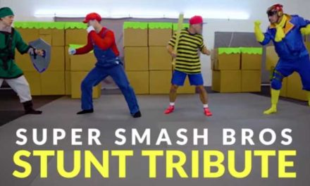 Stunt actors perform Super Smash Bros. Ultimate IRL
