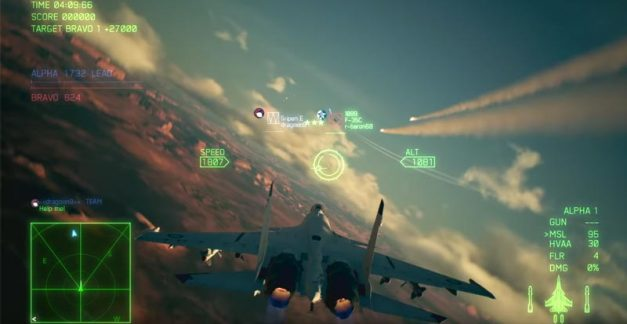 Dive into Ace Combat 7's story and multiplayer