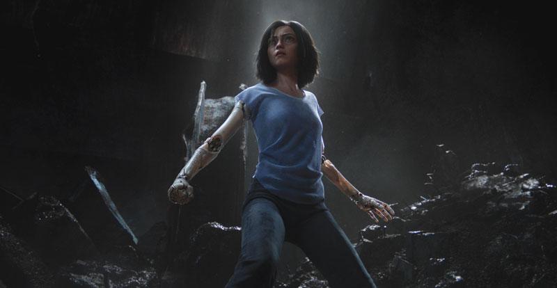 Interview with director Robert Rodriguez and star Rosa Salazar – Alita: Battle Angel