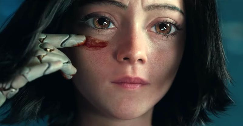 Cameron and Rodriguez discuss Alita: Battle Angel