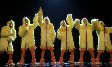 What the cluck?! The Backstreet Boys percuck 'Everybody'