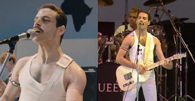 More of the crazy little Bohemian Rhapsody Live Aid recreation