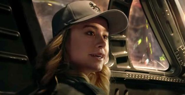 Two new looks at Captain Marvel surface