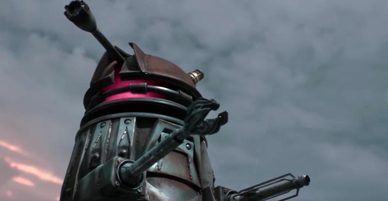 Doctor Who – A Dalek gets a makeover