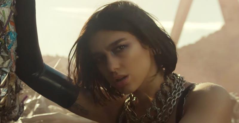 Dua Lipa's new song from Alita: Battle Angel hits