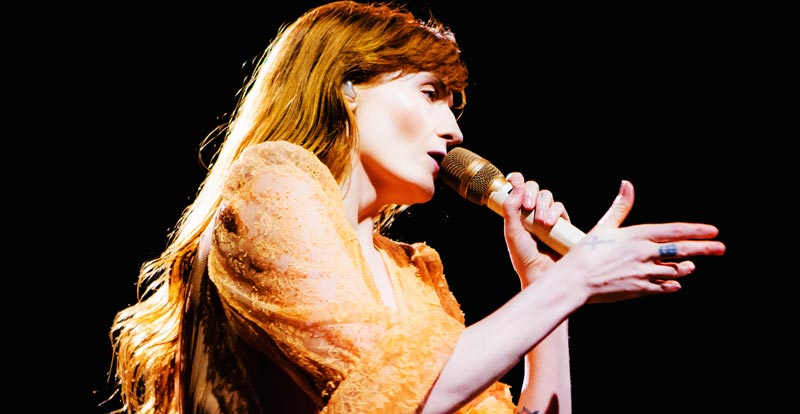 Florence + The Machine @ Sidney Myer Music Bowl – gallery