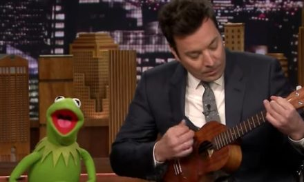 Kermit and Fallon find the Rainbow Connection