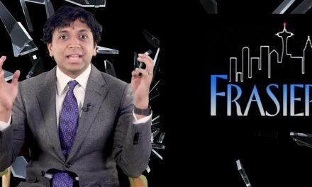 Frasier inspires M Night Shyamalan