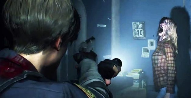 You only get one shot with Resident Evil 2 demo