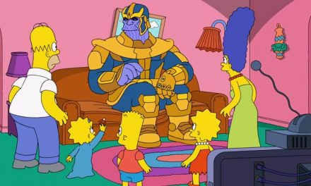 Thanos meets The Simpsons