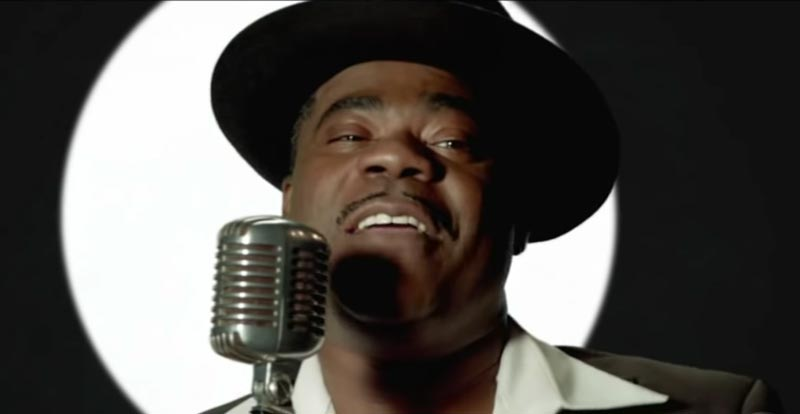 A little bit of Tracy Morgan's 'Mambo No. 5' passion project
