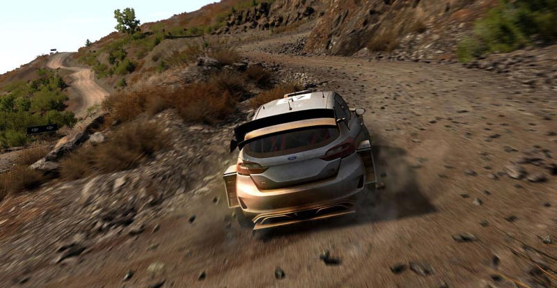 A first look at WRC 8 fangs in