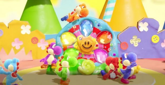 Dinos assemble! The Yoshi's Crafted World story