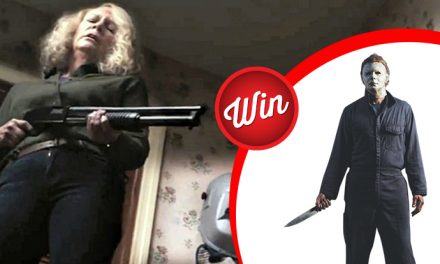 Win Michael Myers' costume from Halloween (2018)