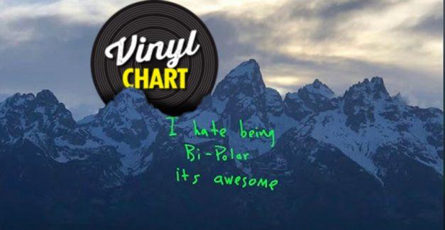 JB's vinyl chart (Dec 28, 2018 – Jan 3, 2019)