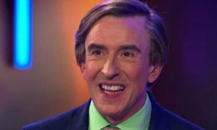 A-ha! A tease of the new Alan Partridge show