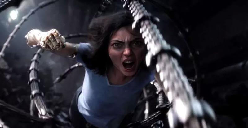 Getting clip crazy with Alita: Battle Angel