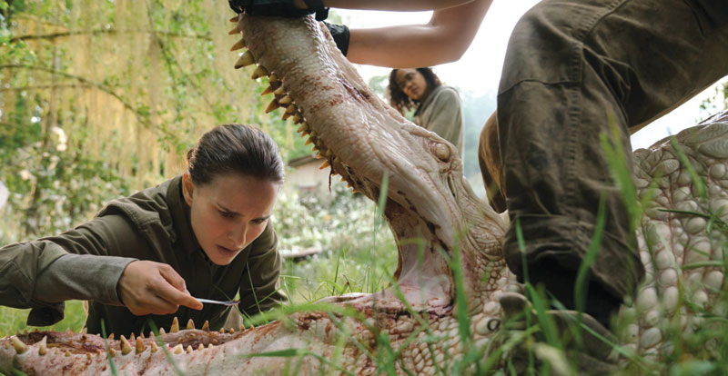Annihilation on DVD and Blu-ray March 20