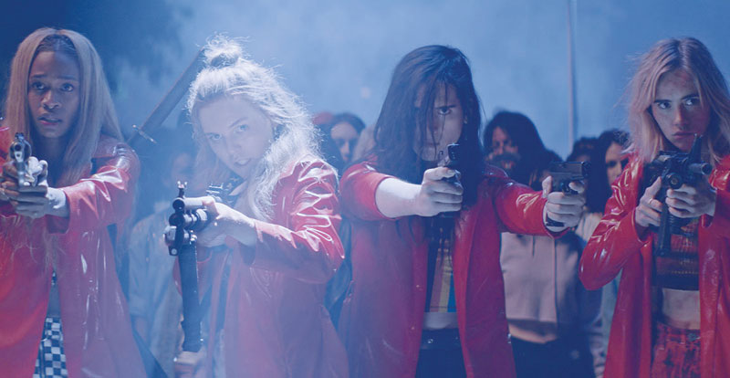 Interview with cast and director – Assassination Nation