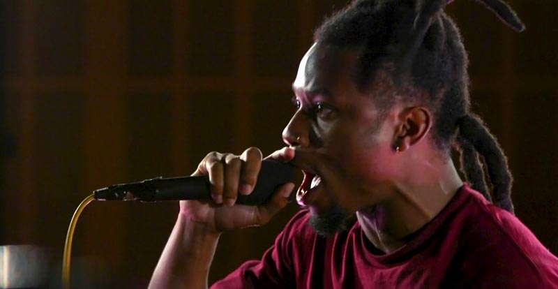 Denzel Curry rages against the machine for Like a Version