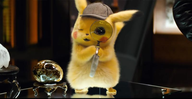 Tracking down the latest on Detective Pikachu