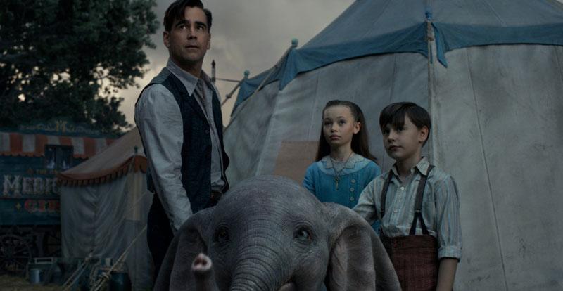Interview with Colin Farrell & Danny DeVito – Dumbo