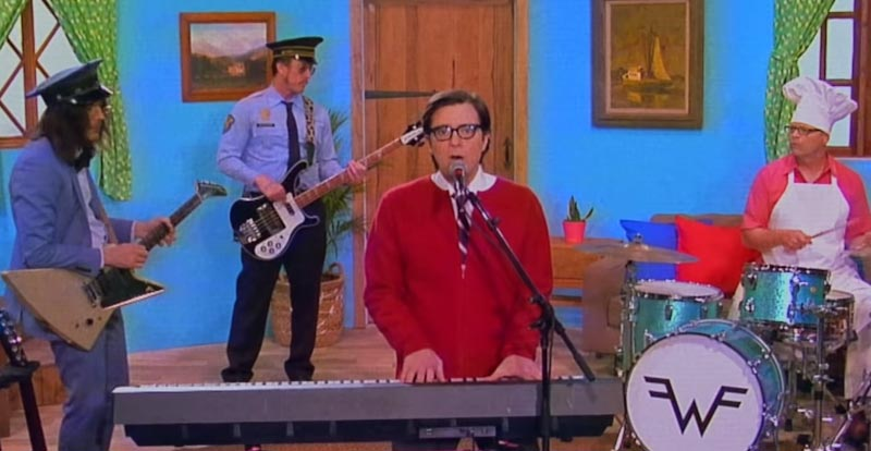 Get 'High as a Kite' with Weezer