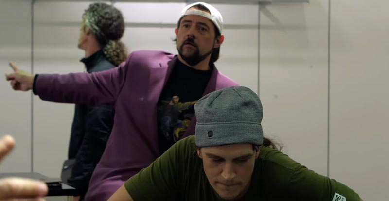 Go behind the scenes with Jay and Silent Bob