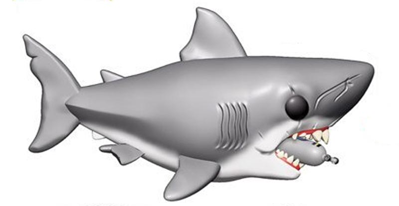 You're gonna need a bigger shelf – Jaws Pop!s incoming