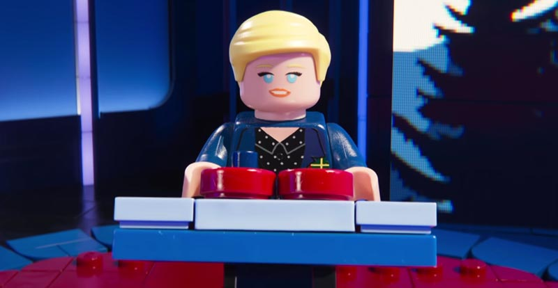 The LEGO Movie 2 plays Ellen's game