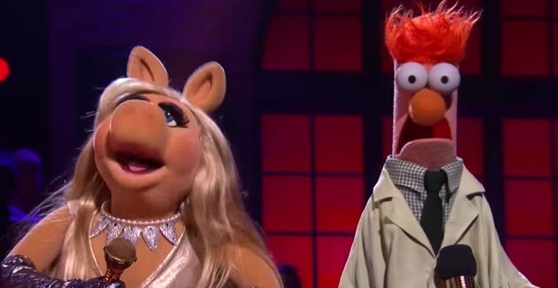 The Muppets trash pork – erm, talk – in rap battle