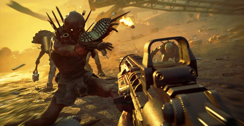 Take in nine hot minutes of Rage 2 gameplay