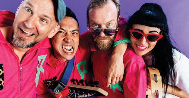 Regurgitator's Pogogo Show, 'The Really Really Really Really Boring Album' review