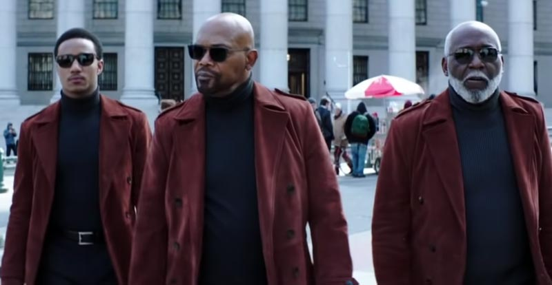 Three generations of Shaft hit the one screen