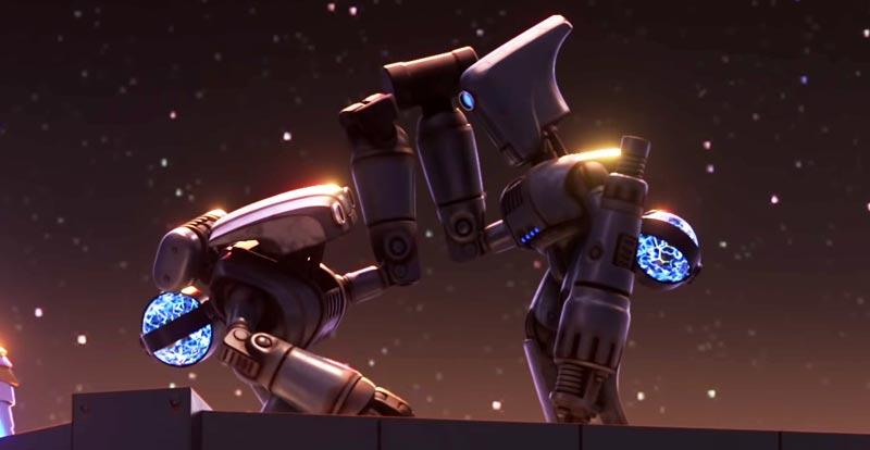 Do the robot with Pixar's Smash and Grab
