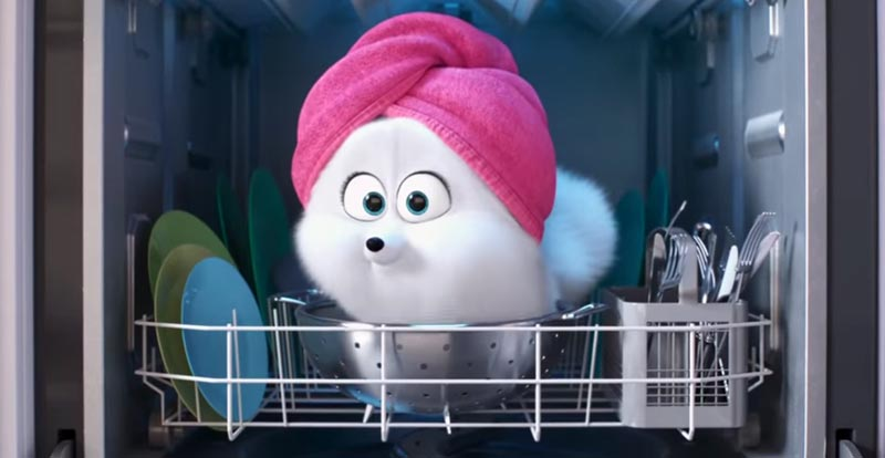 Gidget gets her cat on in The Secret Life of Pets 2