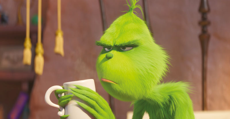 The Grinch on DVD, Blu-ray & 4K March 20