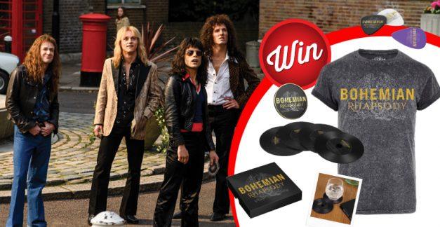 Win one of three Bohemian Rhapsody prize-packs