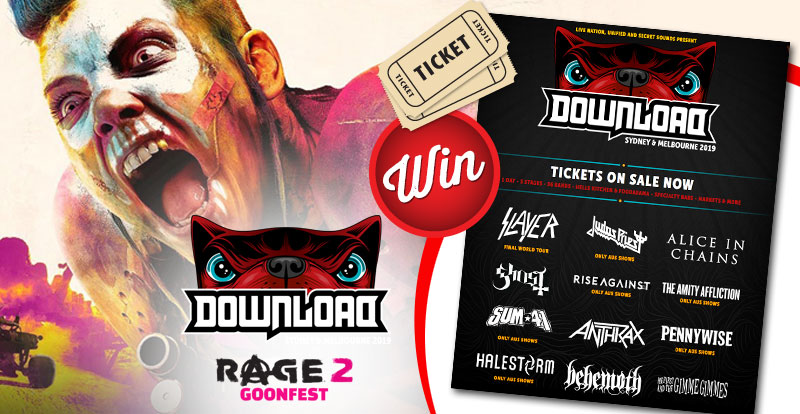 Rage 2 will be attending Download Festival and you're invited!