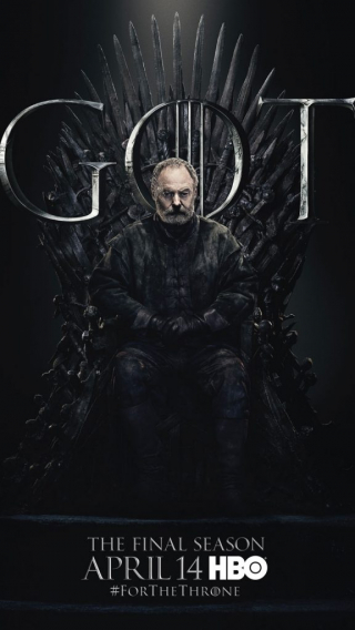 Davos Seaworth GOT Season 8 character poster