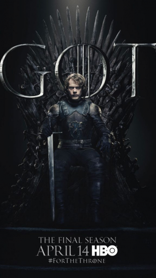 Theon Greyjoy GOT Season 8 character poster