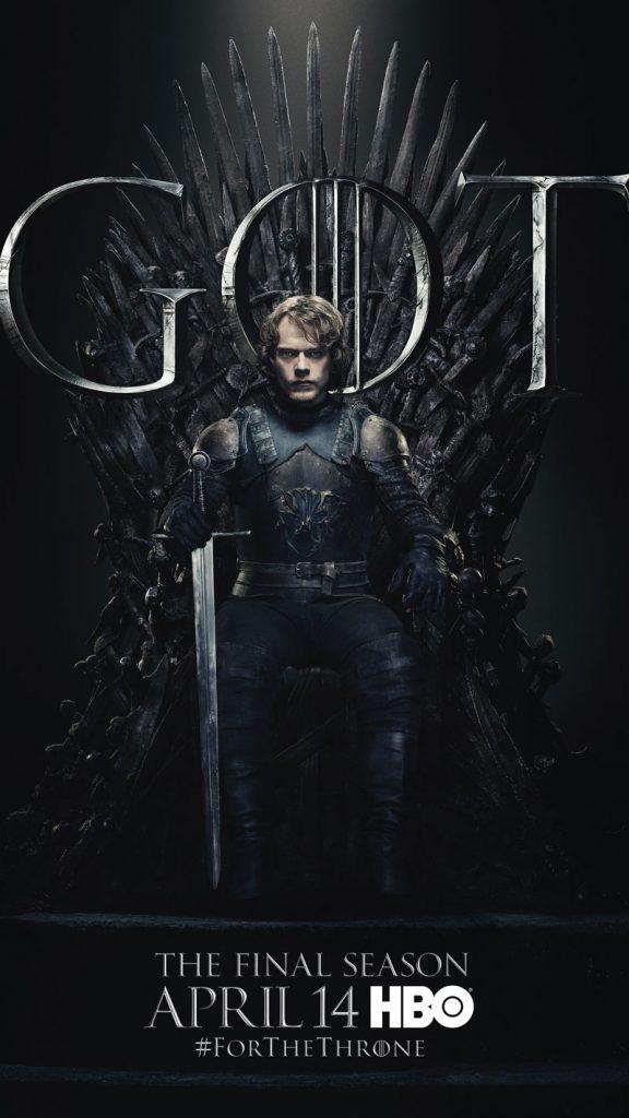 Theon Greyjoy GOT Season 8 character poster