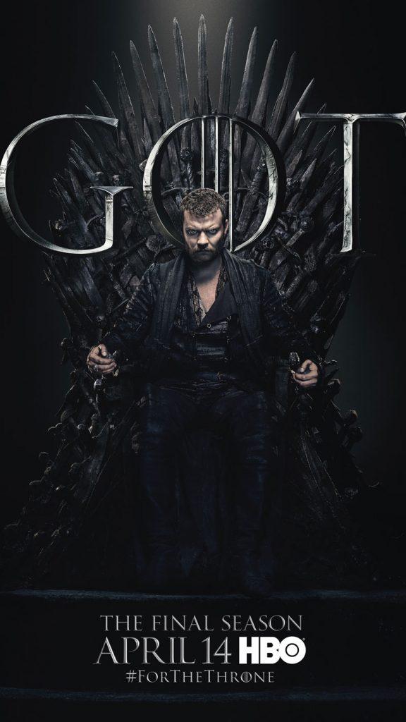 Euron Greyjoy GOT Season 8 character poster