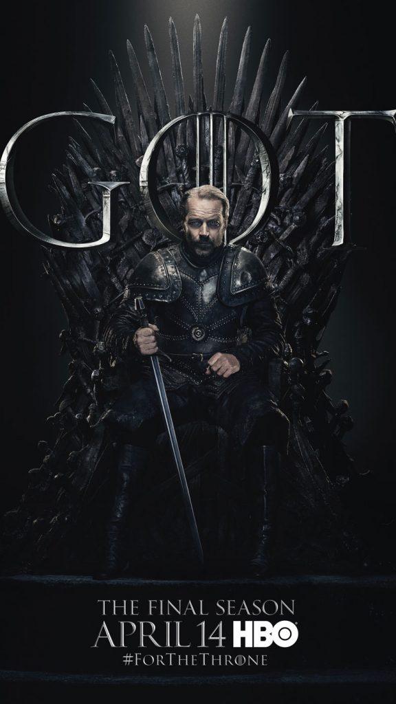 Jorah Mormont GOT Season 8 character poster